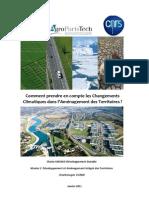 Changements Climatiques et Aménagement des Territoires_C.OGNIN_M2 DAIT
