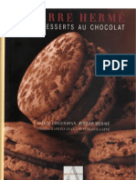 Mes Desserts Au Chocolat by Pierre Herme