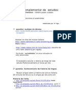 7612c81ec9f01 Plano complementar de Estudos  Italiano (italiano passo a passo Mr Charles  Berlitz)