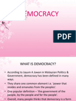 Democracy(1st Task)