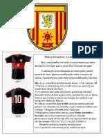 A Nova Camisa Do Lyon Confeccionar.