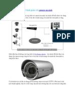 Mô hình giám sát camera an ninh
