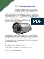 Thiết lập hệ thống camera quan sát qua mạng