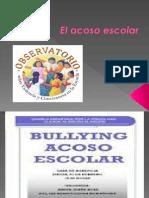 ACOSO ESCOLAR- BULLYNG