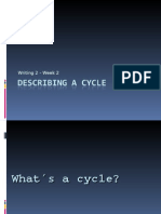 Describing a Cycle
