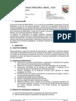 Plan de Monitoreo 2010