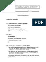 Artes - Exercício módulo I