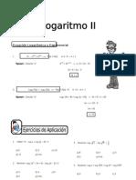 IV BIM - 3er. Año - ALG - Guía 7 -  Logaritmo II