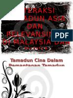 Tamadun Cina Dalam Pemantapan Tamadun Malaysia Dan Dunia