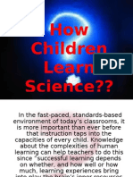 How Children Learn Science 2