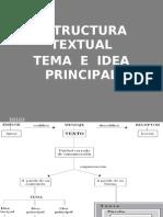 Tema e Idea Principal