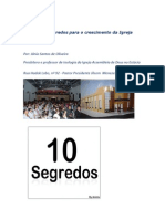 Os Dez Segredos Para o Crescimento Da Igreja