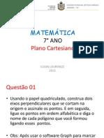 Aula 5 - 7° ano - Plano Cartesiano