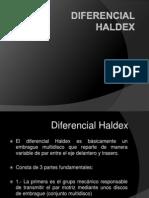 Diferencial Haldex