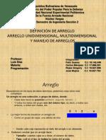 Presentación Arregloss 2003