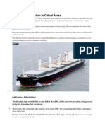 Bulk Carrier Inspection in Critical Areas