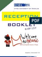Reception Booklet AIESEC Unand 1213