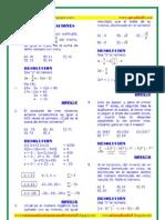 Planteo de Ecuaciones Ejercicios Resueltos