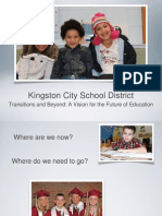 Kingston School District Reconfiguration Plan