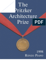 The Pritzker prize - Renzo Piano