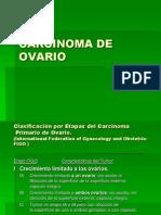 Carcinoma de Ovario