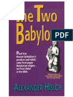 The Two Babylons Alexander Hislop