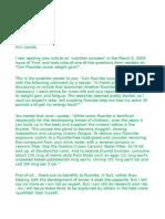 letter to ann louise on xxx-fluoride-xxx