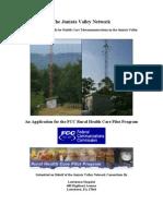 Juniata Valley Network FCC Application