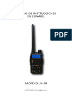 Manual Esp Baofeng UV-5R