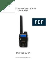 Manual Esp Baofeng UV-5R
