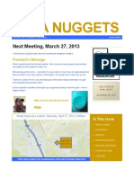 March 2013 Nupa Nuggets