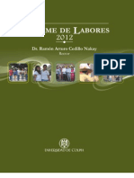 Informe Dr. Ramon Cedillo Nakay 2012