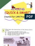 READING for UN SMP Preparation