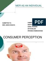 Consumer as an Individual