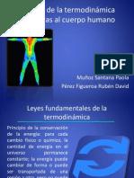 Leyes de la termodinámica relacionadas al cuerpo humano