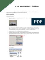 Configuracin de Nanostatios2 - Windows XP