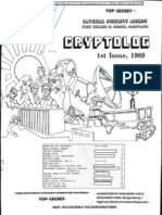 NSA TS Cryptolog Issue #1 1989  (Unclassified)