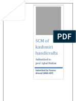 scm of kashmiri handicrafts