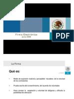Firma Electronica Secretaria de Economia