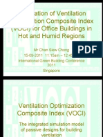 VOCI - Ventilation Optimization Composite Index