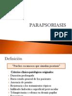 Parapsoriasis II