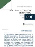 Fisuras en El Concreto Estructural