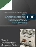 Aire acondicionado y Refrigeración automotriz
