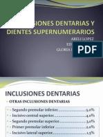 Exodoncia de Inclusiones y Supernumerarios