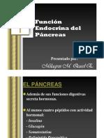Función Endocrína Del Páncreas