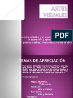 ARTES VISUALES III.ppt