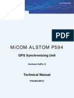 GPS Synchronizing Unit_TM P594