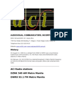 Audiovisual Communicators, Inc.