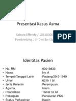 Presentasi Kasus Asma (Revisi)