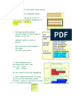 Chunking and Highlighting Text